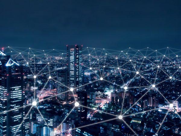 De stad is connected!