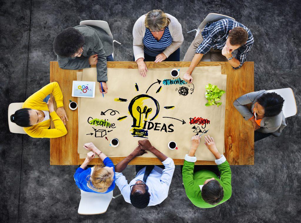 Mensen met ideeën