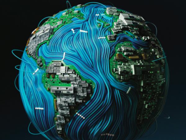 De wereld uit chips en kabels