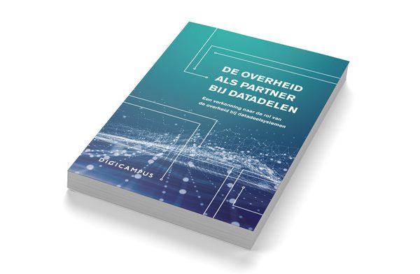 De cover van de publicatie, de overheid als partner bij datadelen
